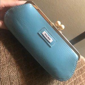 Miu miu cosmetic bag / case